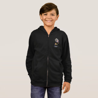 MASCOTTE ALIEN CARTOON Kids' Basic Zip Hoodie