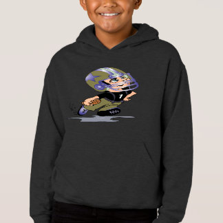 MASCOTTE ALIEN CARTOON Kids' Fleece Pullover Hoodi