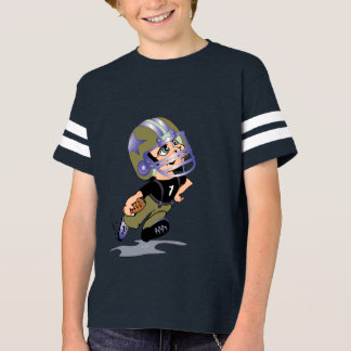 MASCOTTE ALIEN CARTOON Kids' Football Shirt