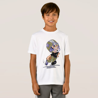 MASCOTTE ALIEN CARTOON Kids' Sport-Tek Competitor T-Shirt