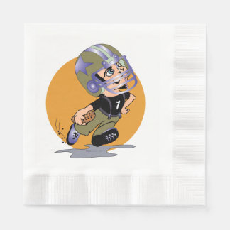 MASCOTTE CARTOON  NAPKINS Coined Luncheon