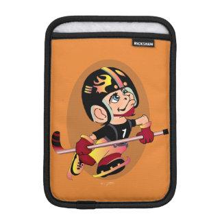 MASCOTTE HOCKEY CARTOON   iPad Mini iPad Mini Sleeve
