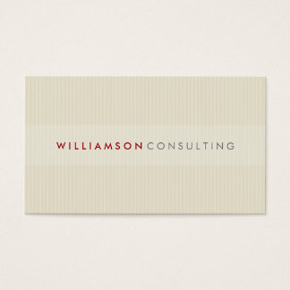 MASCULINE BUSINESS CARD :: simple pinstripe 3D 11