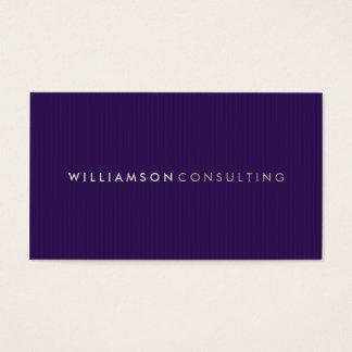 MASCULINE BUSINESS CARD :: simple pinstripe 8