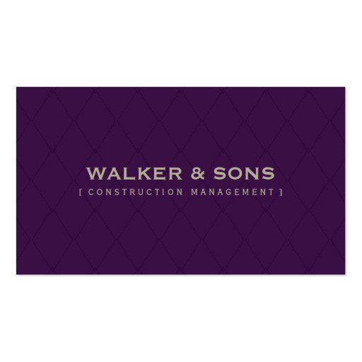 MASCULINE BUSINESS CARD :: simply smart 6