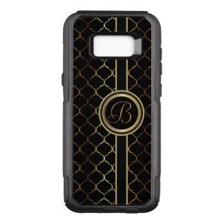 Masculine Executive Design  | Monogram OtterBox Commuter Samsung Galaxy S8+ Case