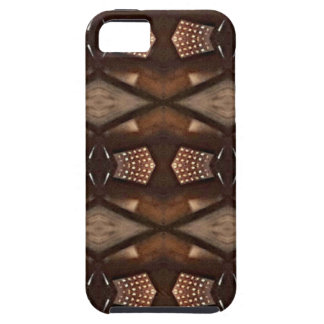Masculine Shades of  Brown Pattern iPhone 5 Cover