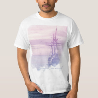 Masculine shirt - I will sail, I go to sail