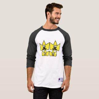 Masculine t-shirt 3/4 mangos raglan - Gay Family