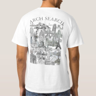 Masculine t-shirt Basic Arch Mural Search