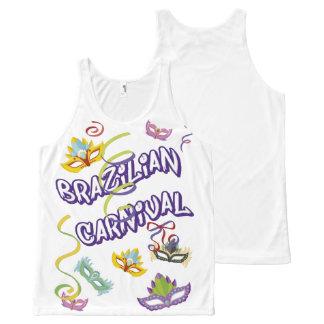 Masculine t-shirt Branca Regat Carnival of Brazil