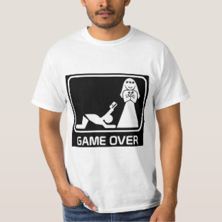 Masculine t-shirt GAME OVER