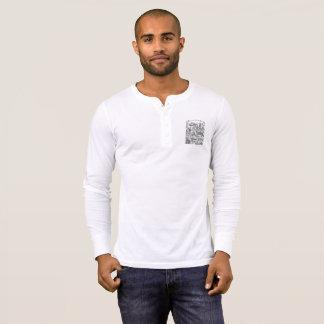 Masculine t-shirt Henley Long Arch Mural Search
