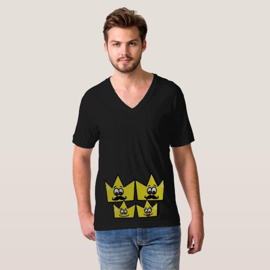 Masculine t-shirt Jersey Collar V - Gay Family