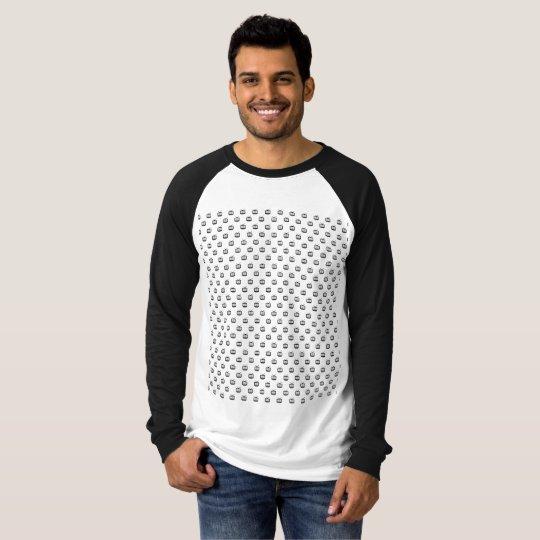 Masculine t-shirt Raglan Long Malha Arch SearchTv