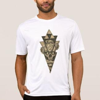 "Masculine t-shirt ""Skull pyramid """