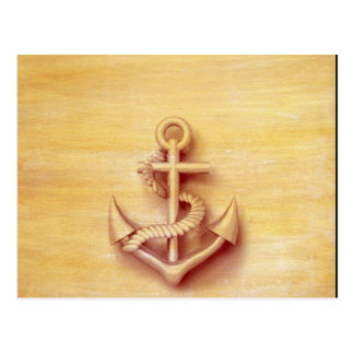 Masculine Vintage nautical classy anchor Postcard