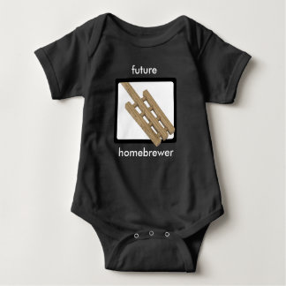 Mash Paddle - Future Homebrewer Baby Bodysuit