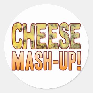 Mash-Up Blue Cheese Round Sticker