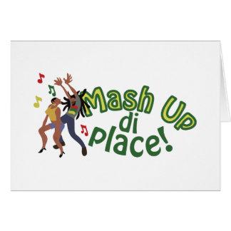 Mash Up Di Place Card