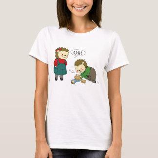 Masha and Sasha Yozhin playtime t-shirt