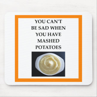 MASHED potatoes Mouse Pad