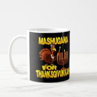 Mashugana For Thanksgivukkah Turkey Menorah Mug
