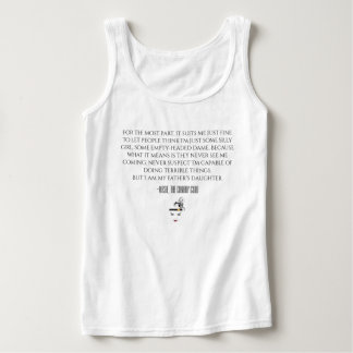 Masie Dame Quote Tank Top
