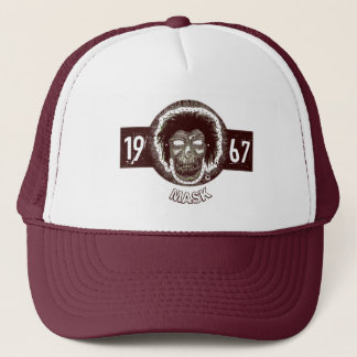 Mask - Burgundy 1967 Style 2 Trucker Hat