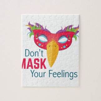 Mask Feelings Puzzle