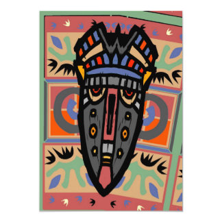 Mask Matisse Style Card