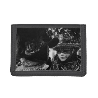 Mask of Venice Trifold Wallets