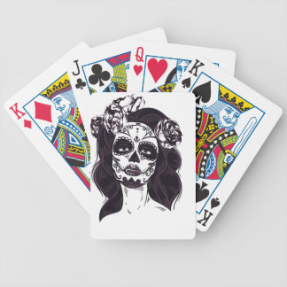Mask Skull Bicycle Playing Cards