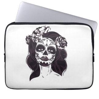 Mask Skull Laptop Sleeve