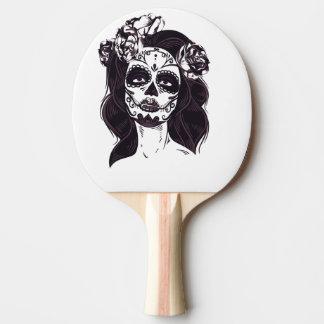 Mask Skull Ping Pong Paddle