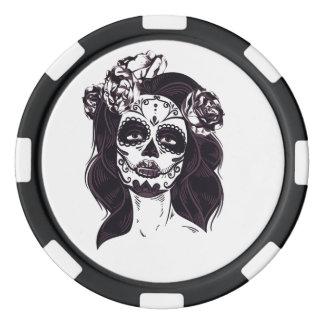 Mask Skull Poker Chips