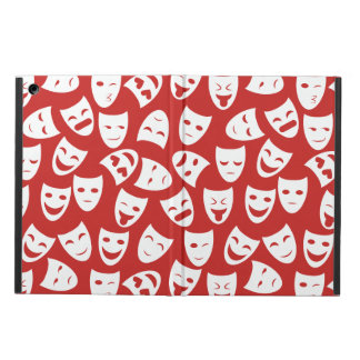 Mask w/ Different Emotions Pattern iPad Air Cover