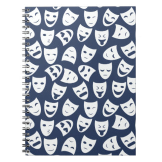 Mask w/ Different Emotions Pattern Notebooks