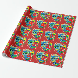 Mask Wrapping Paper