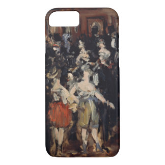 Masked Ball at the Opera by Edouard Manet iPhone 7 Case