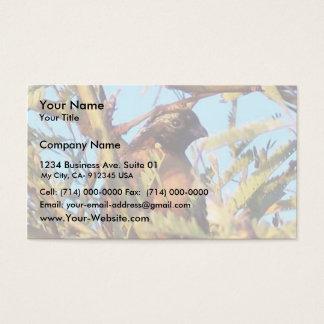 Masked Bob White Quail Business Card