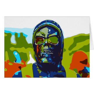 Masked man card