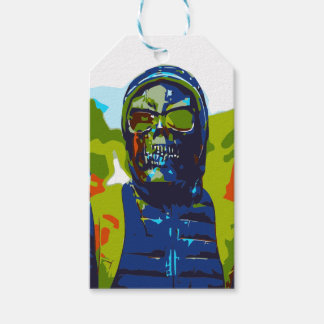 Masked man gift tags