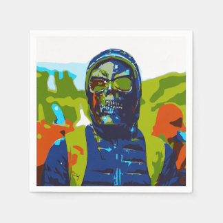 Masked man napkin