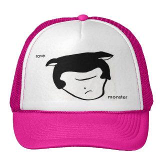 masked monster trucker hat