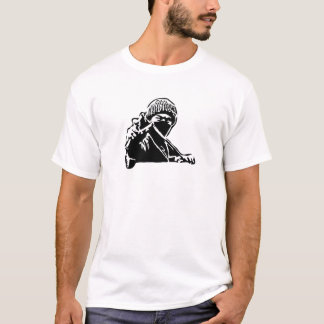 Masked Person With Slingshot T-Shirt