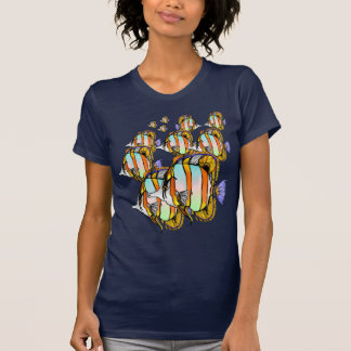 Masked Sea Butterfly Fish T-Shirt