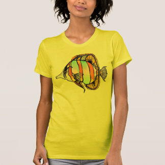 Masked Sea Butterfly Fish Tees