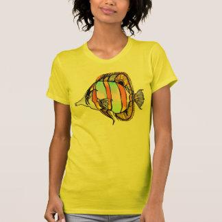 Masked Sea Butterfly Fish Shirt