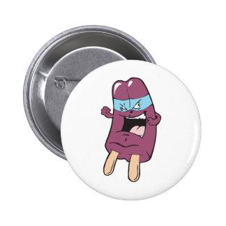 masked super villian hero grape ice pop pinback buttons